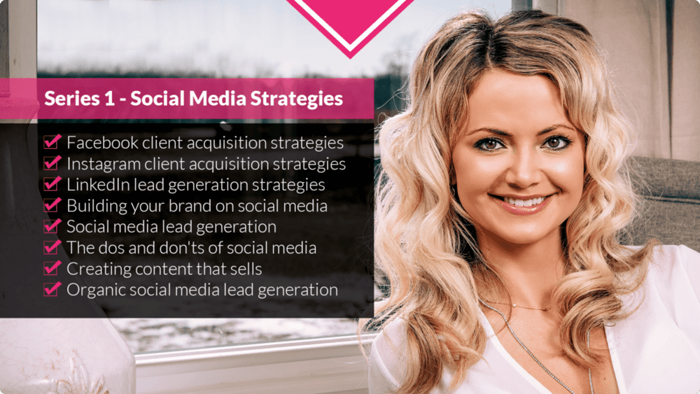 Series 1 - Social Media Strategies