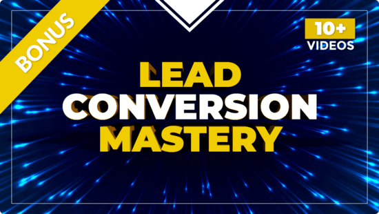 Lead Converion Masery Course